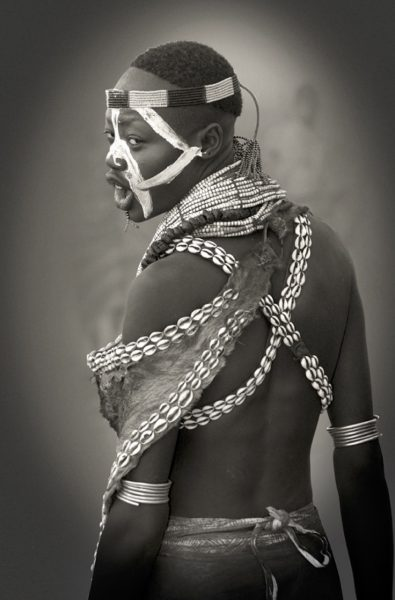 Artwork | Karo Woman with Cowry Shells, Limited edition 4-100 by Bob Nelson