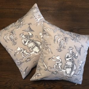 Cushion | Mandarin Toile | Wendy Kaesar