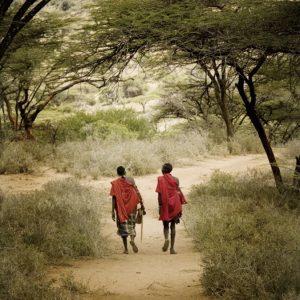Artwork | Samburu Warriors, Limited edition 11-100 by Bob Nelson