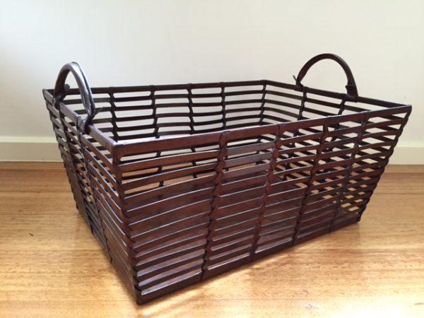 Basket | Leather Basket
