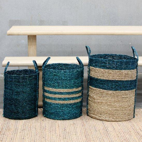 Basket | Merricks Basket L405 Blue