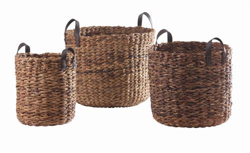Basket | Rosebud Round Basket