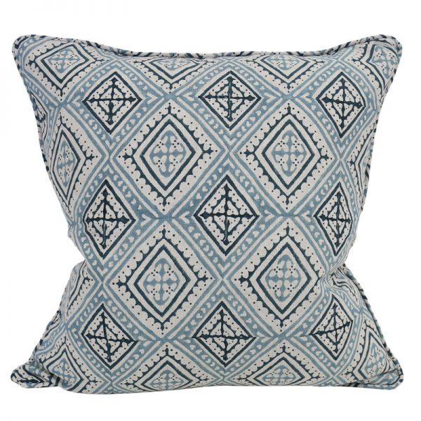 Cushion | Walter G | Havana China Blue Linen