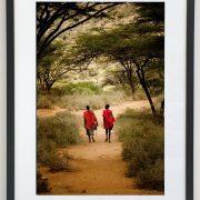 Framed   Samburu Warriors