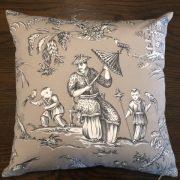 Cushion | Mandarin Toile2 | Wendy Kaesar