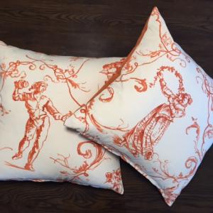 Cushion | Sintra Orange | Wendy Kaesar