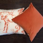 Cushion   Sintra Orange2   Wendy Kaesar